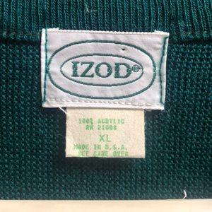 Vintage Izod Acrylic Men's Sweater